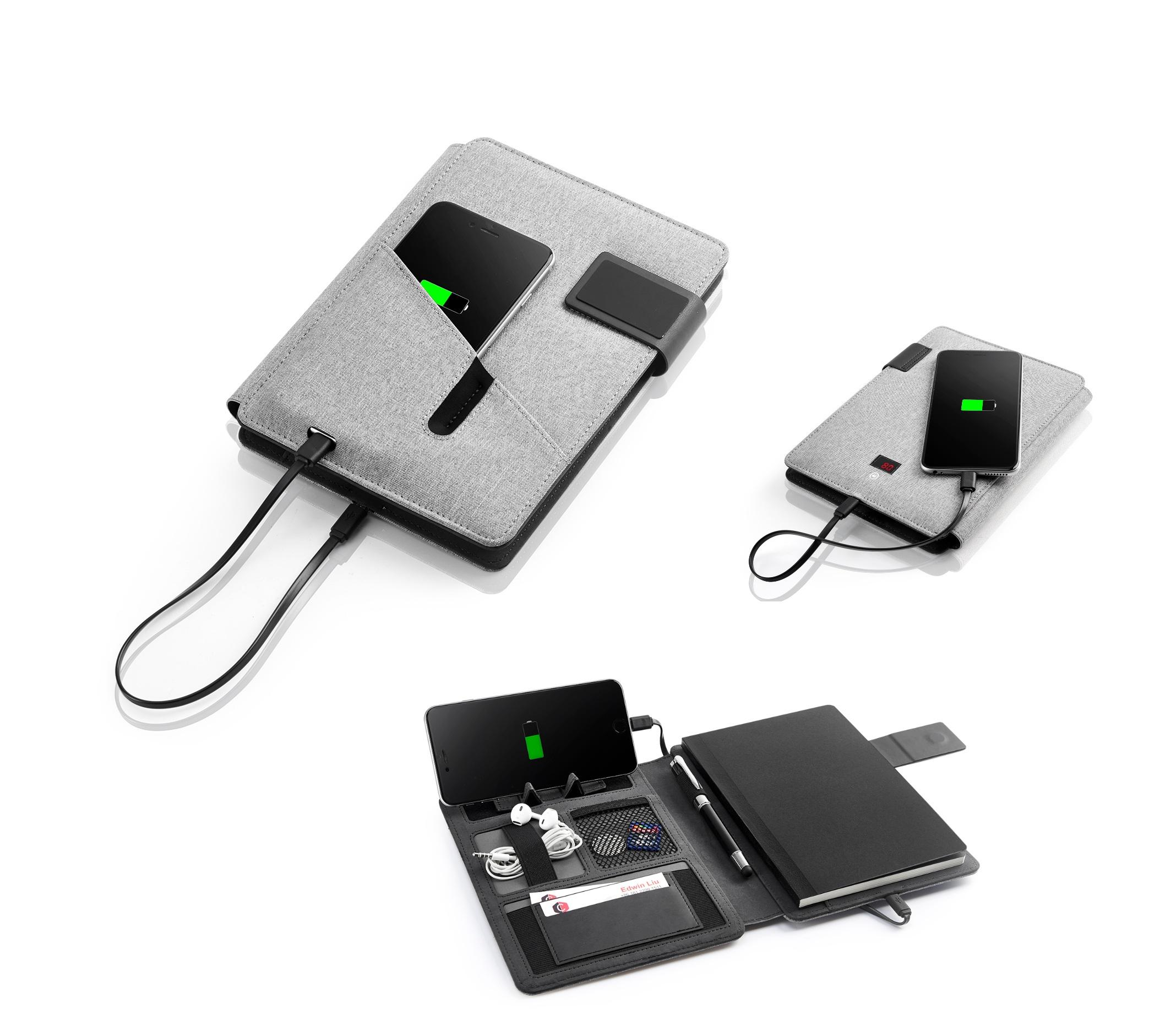 Note book avec power bank intégrée